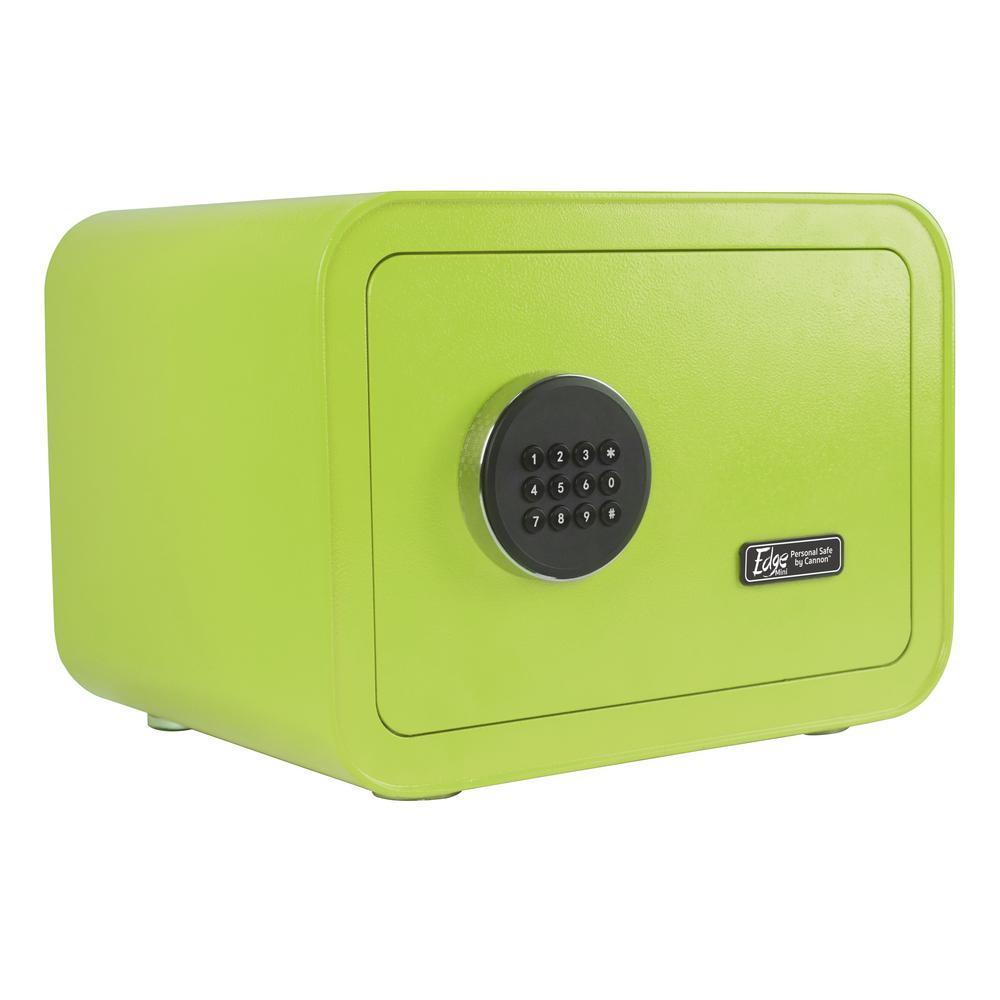 Edge Series 0.86 cu. ft. Electronic Personal Security Safe in Green