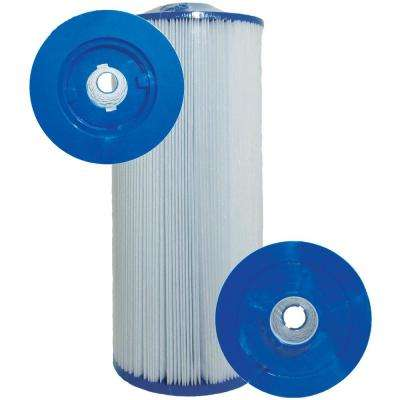 CH Series 6-3/4 in. Dia x 15-1/2 in. 60 sq. ft. Replacement Filter Cartridge with 2 in. SAE Thread Bottom
