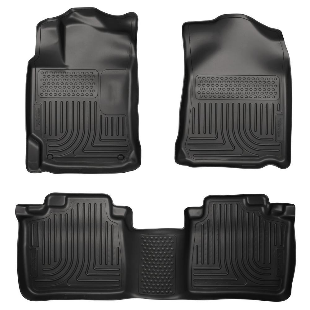 13-17 ES350 98961 Husky Liners Front /& 2nd Seat Floor Liners Fits 13-15 ES300h