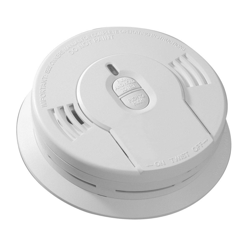 10-Year Lithium Battery Operated Smoke Detector