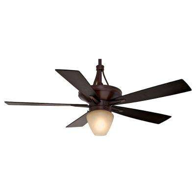 Colorado 60 in. Indoor Brushed Cocoa Ceiling Fan