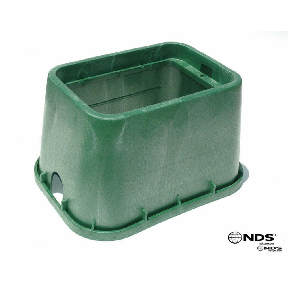 NDS Pro Series 14 in. x 19 in. Valve Box and Cover - ICV