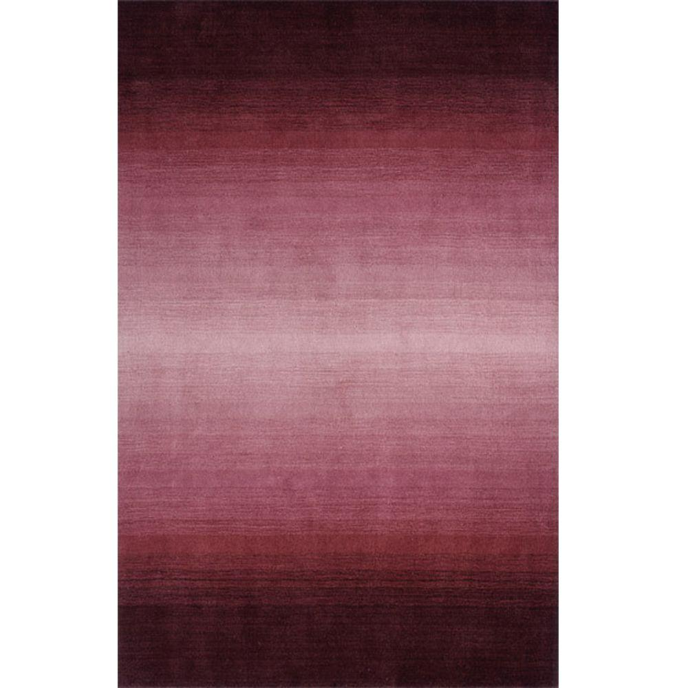 Momeni City Life Collection Plum 5 ft. x 8 ft. Indoor Area Rug