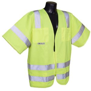 Radians Std Class 3 Green Solid 3X-Large Safety Vest by Radians