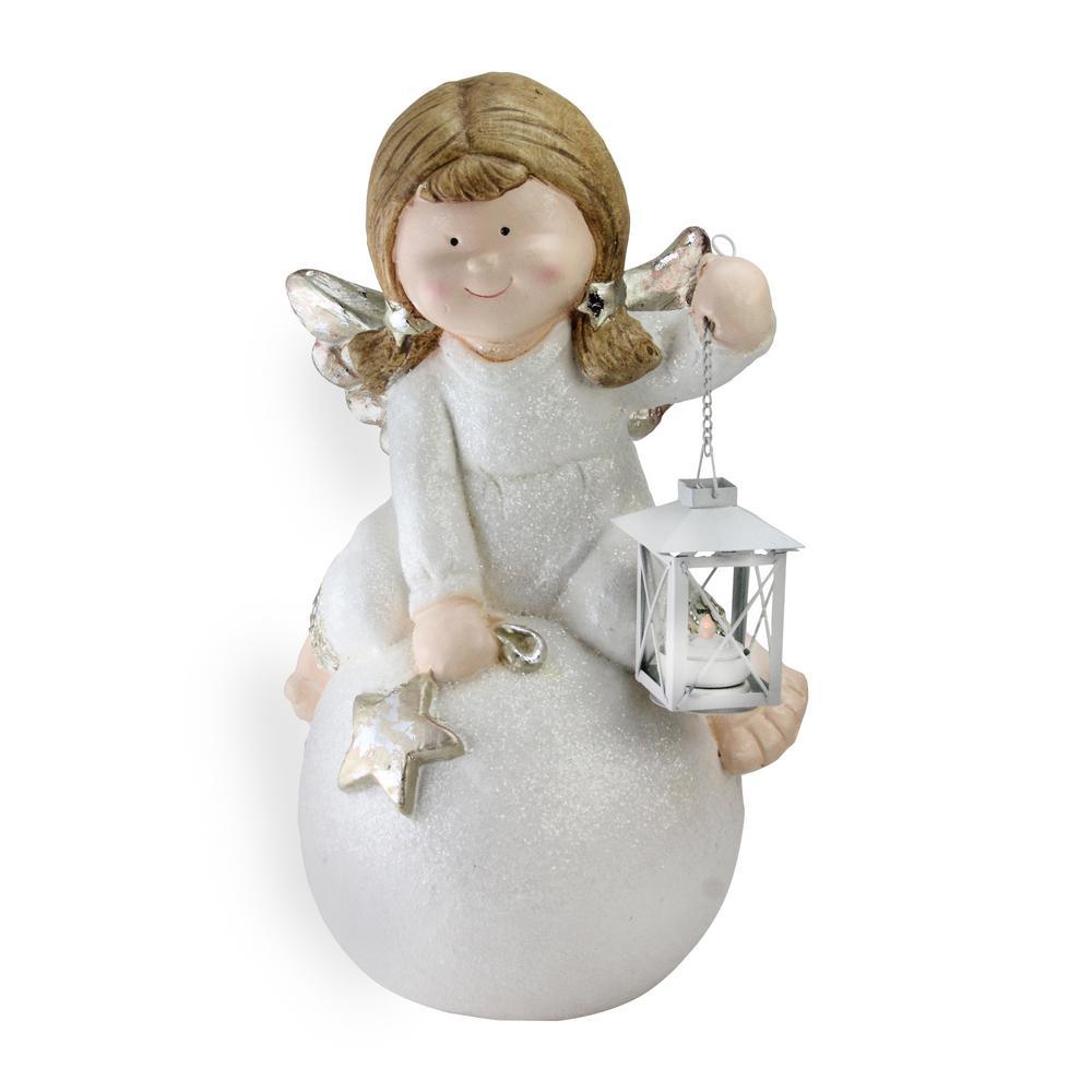 Tabletop Christmas Decoration Christmas Angel Holding Star Figurine