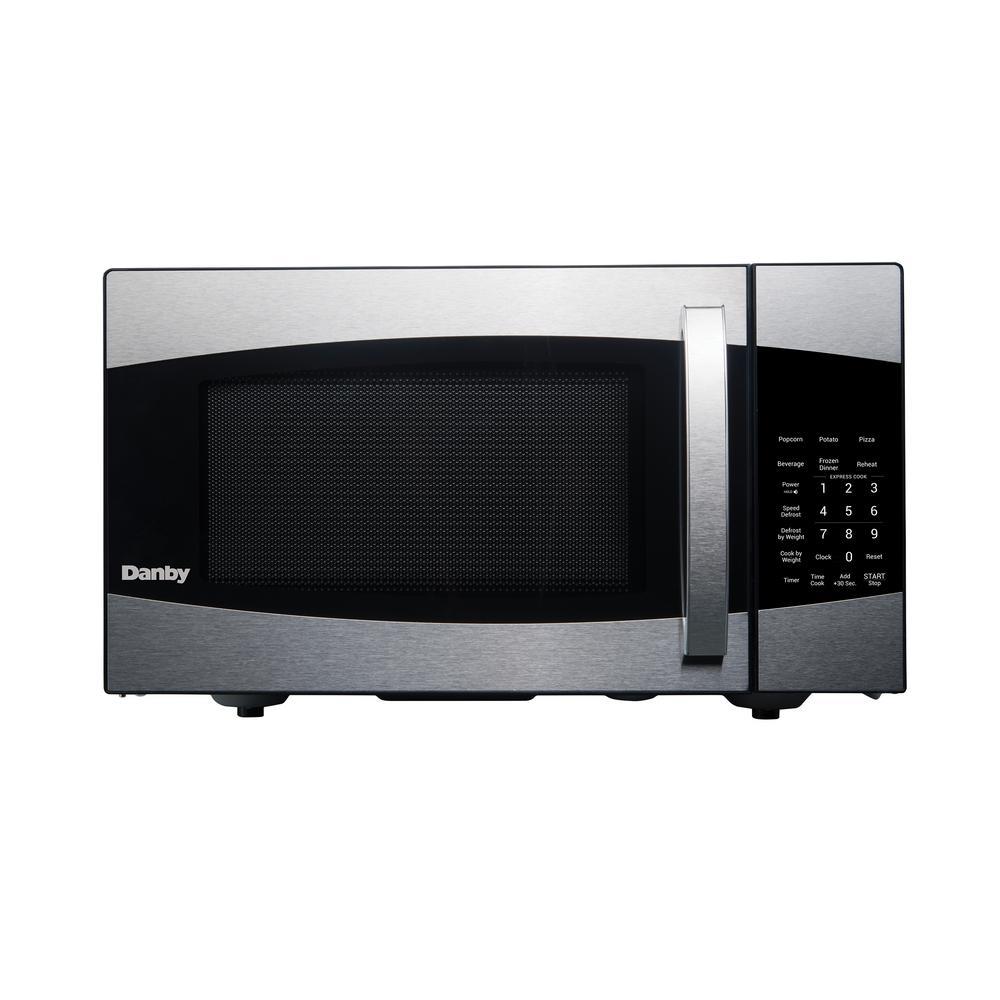 Danby 0.9 cu. Ft. Countertop Microwave in Black