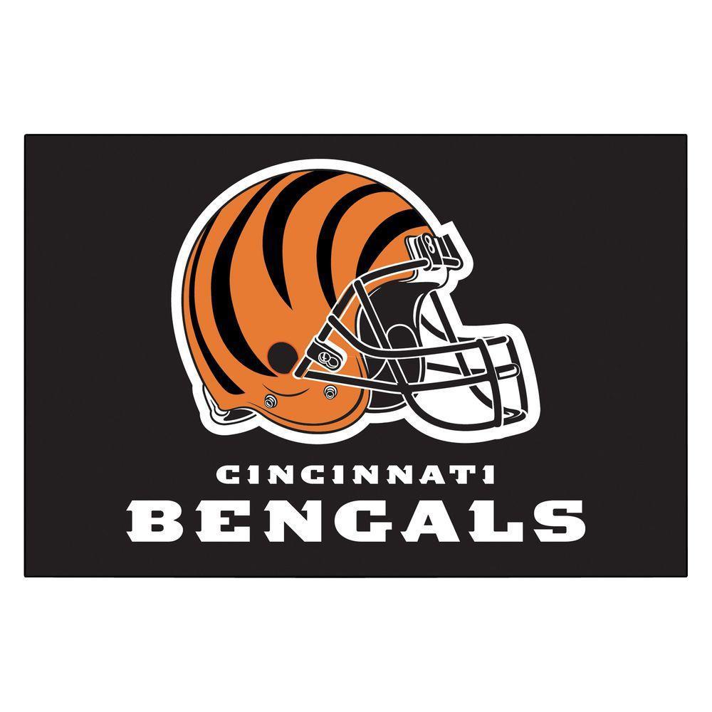 Cincinnati Bengals 19 in. x 30 in. Accent Rug