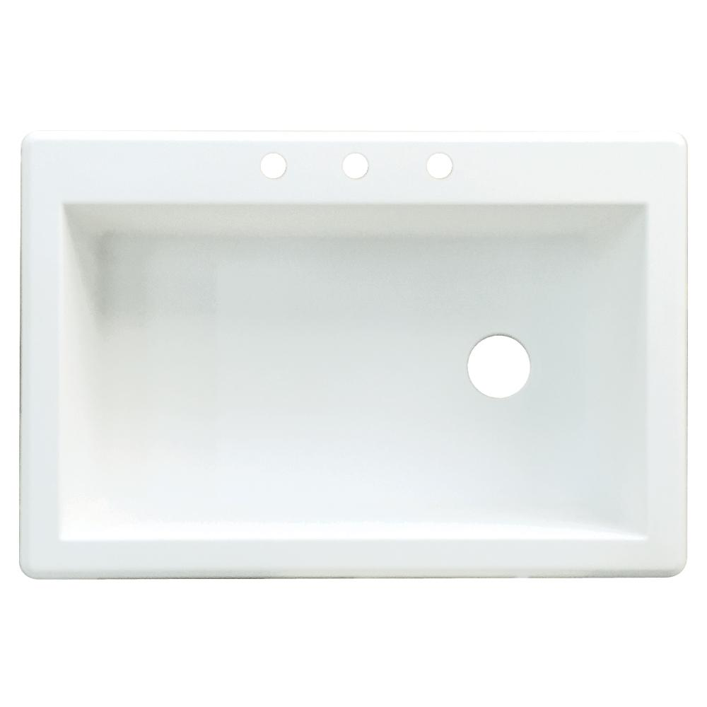 White Resin Kitchen Sink Reviews