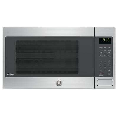 Countertop Convection Microwave Oven In Stainless Steel