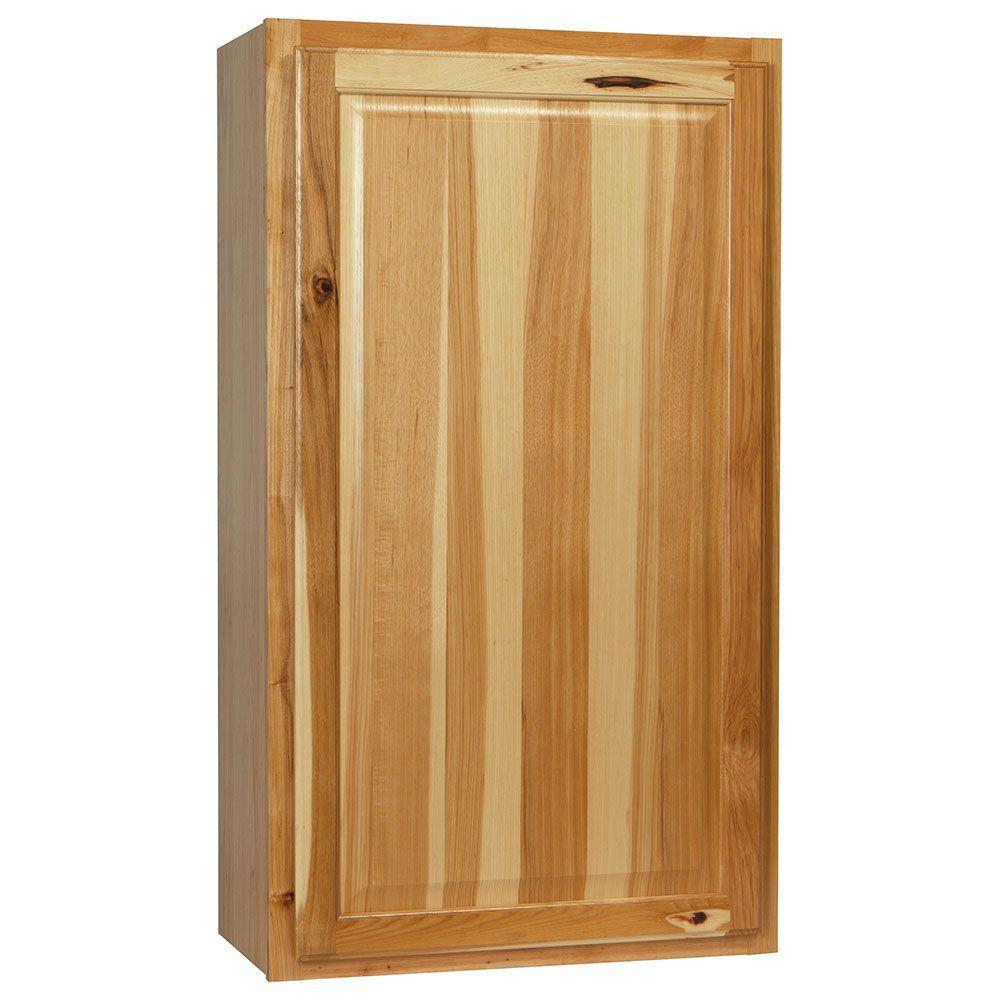 Hampton Bay Kitchen Cabinets Natural Hickory
