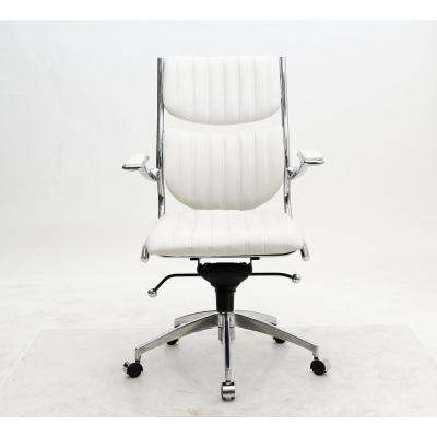 Ergonomic High Back Verdi White Office Chair