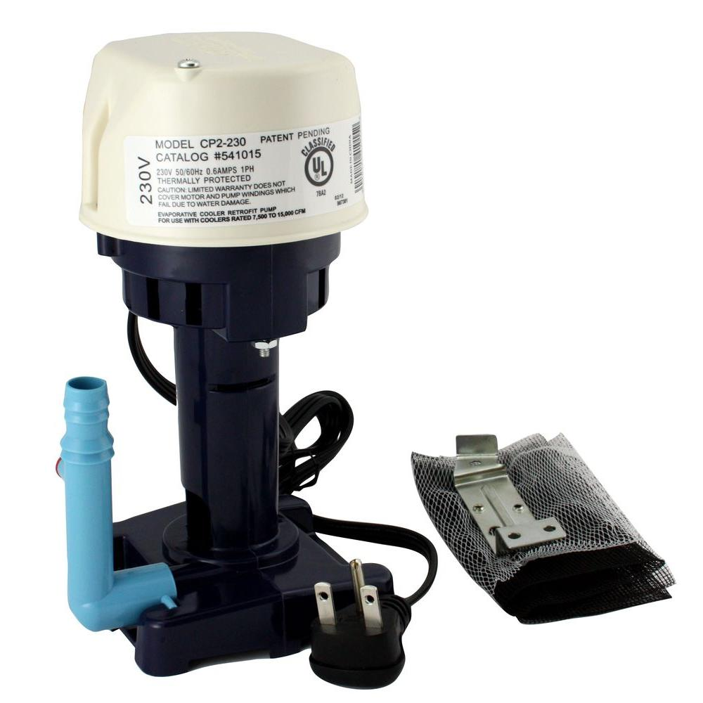 230-Volt 1/50 HP Evaporator Cooler Pump