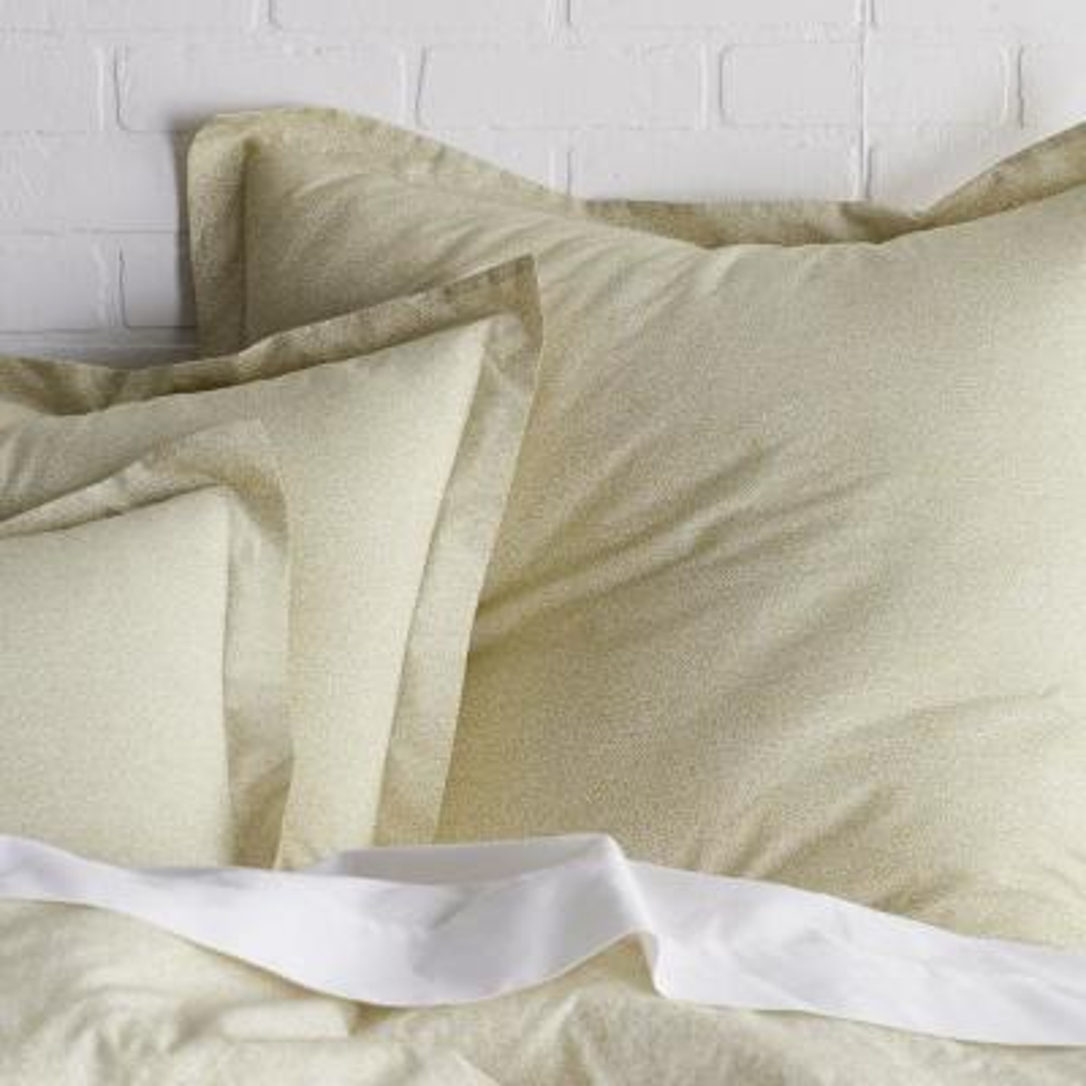Marble Cotton Percale Duvet Cover