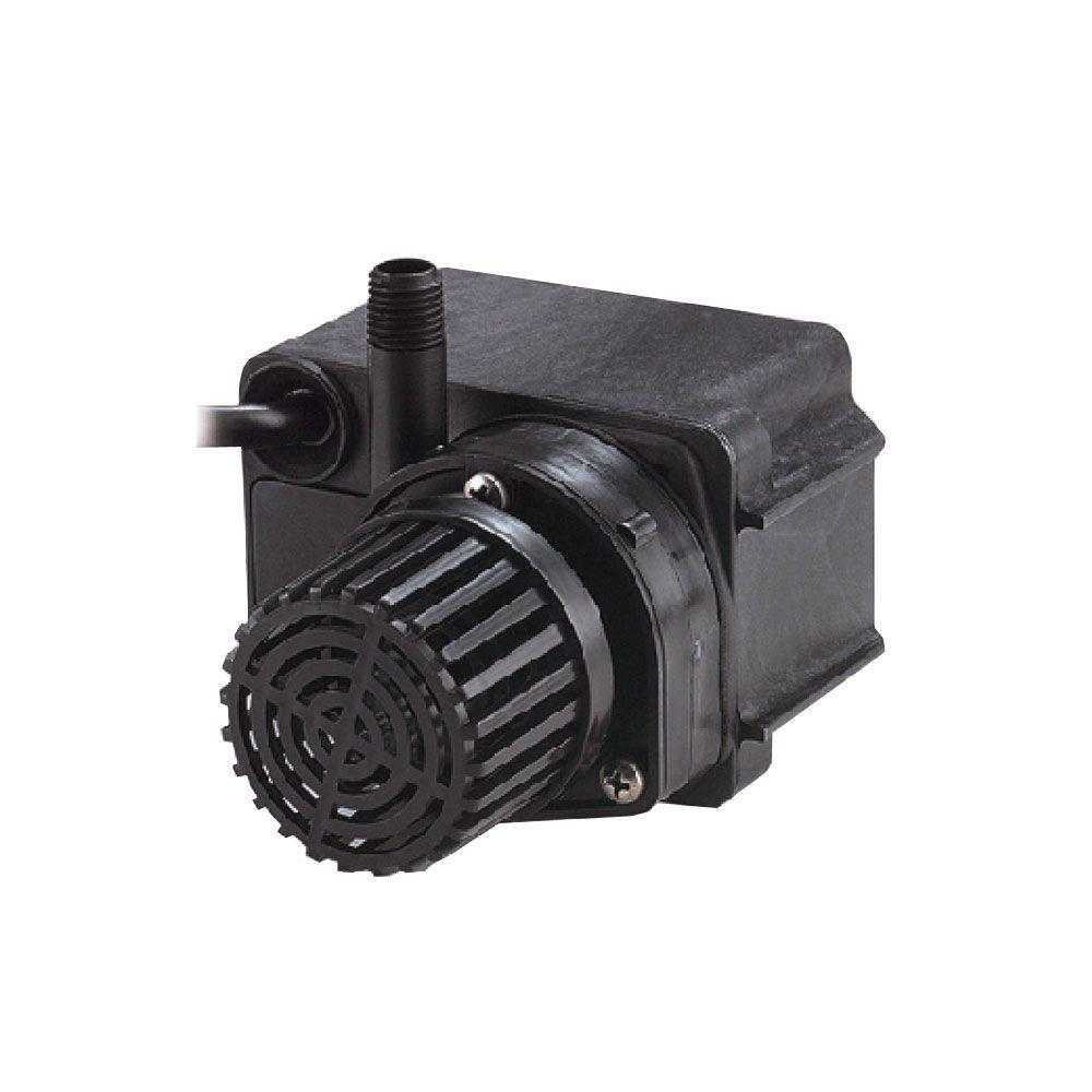 Little giant pe 2 5f 1 28 hp small submersible drive pump for Install external pond pump