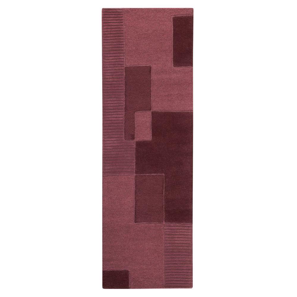 Home Decorators Collection Clara Plum 2 ft. 6 in. x 8 ft. Rug Runner