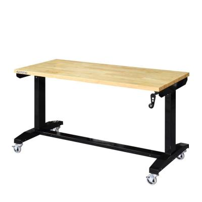 Husky 52 in. Adjustable Height Work Table