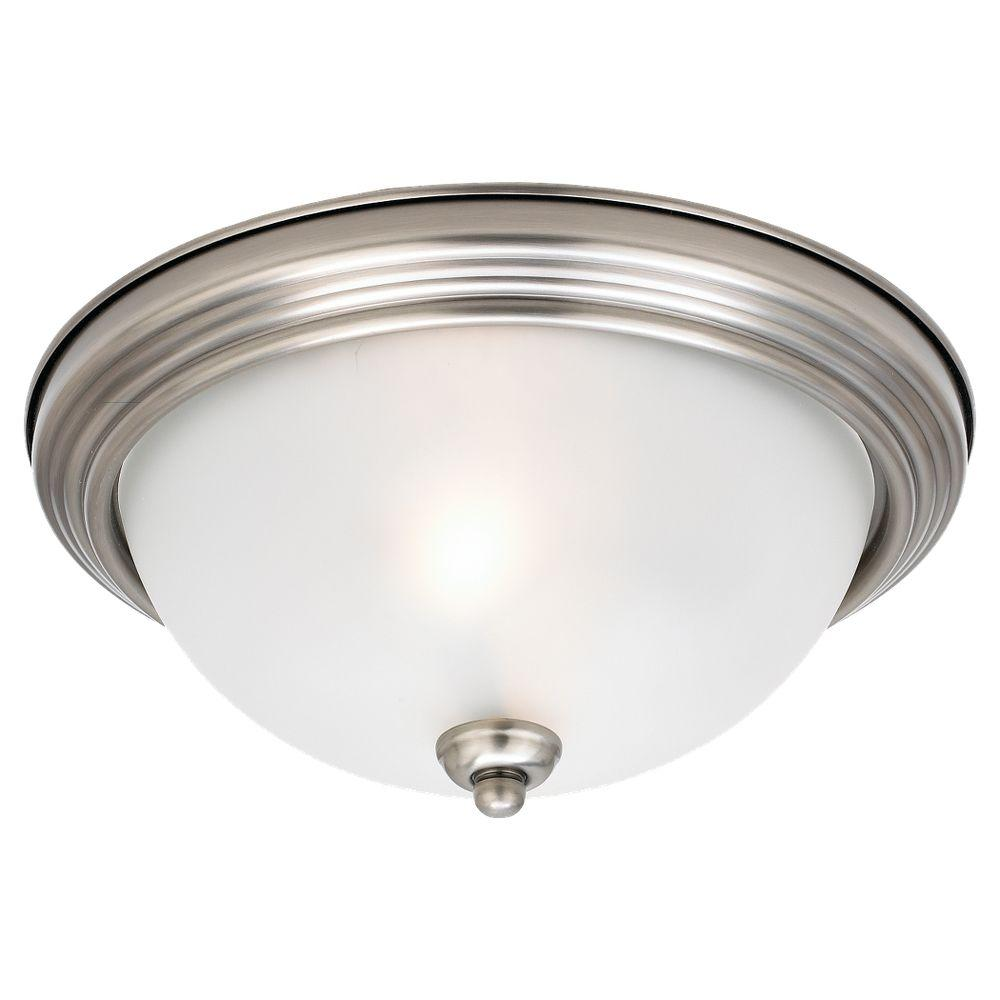 Sea Gull Lighting 14.5 In. W 3-Light Antique Brushed