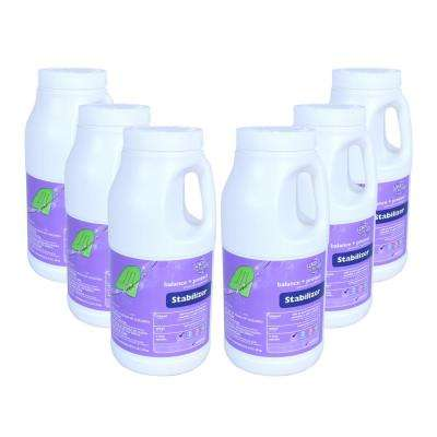 3 lbs. Pool Stabilizer and Conditioner (6-Pack)