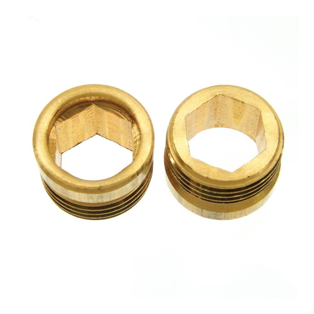 American Standard 000862 1400 Aquaseal Brass Seat 2 Pack