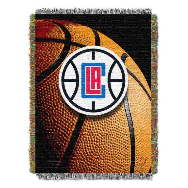 Los Angeles Clippers Polyester Throw Blanket
