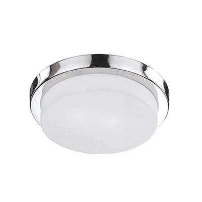 Aurora 2-Light Chrome Flush Mount