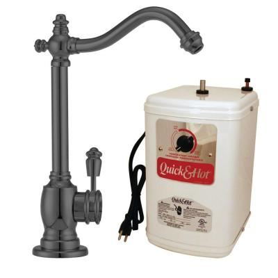 Victorian Single-Handle Hot and Cold Water Dispenser Faucet in Oil Rubbed Bronze with Instant Hot Tank