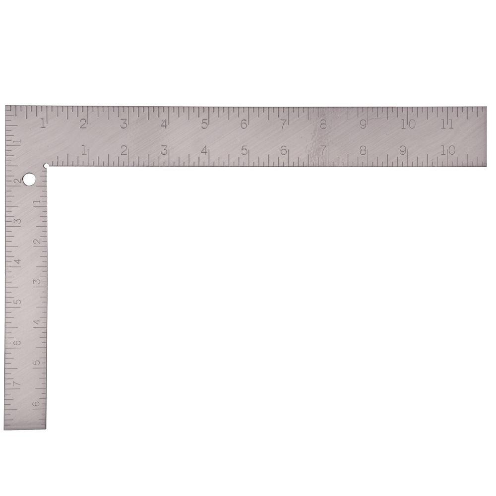 Empire 8 in. x 12 in. Steel Carpenter Square