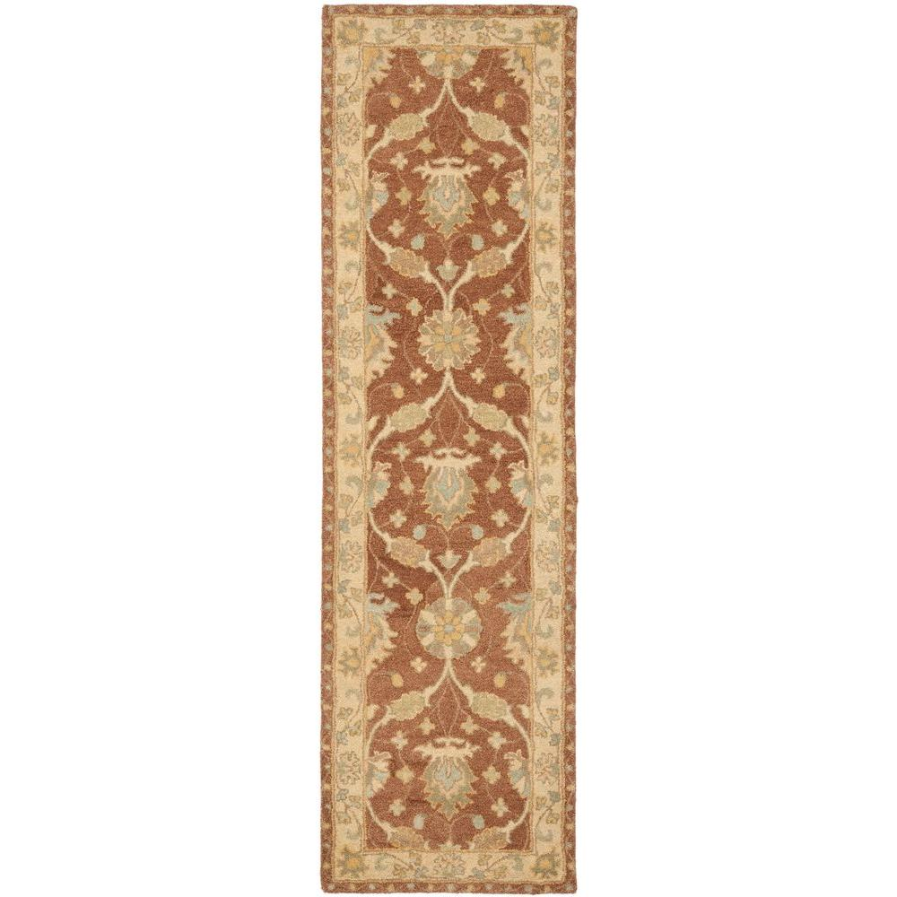Antiquity Brown/Taupe 2 ft. 3 in. x 10 ft. Runner