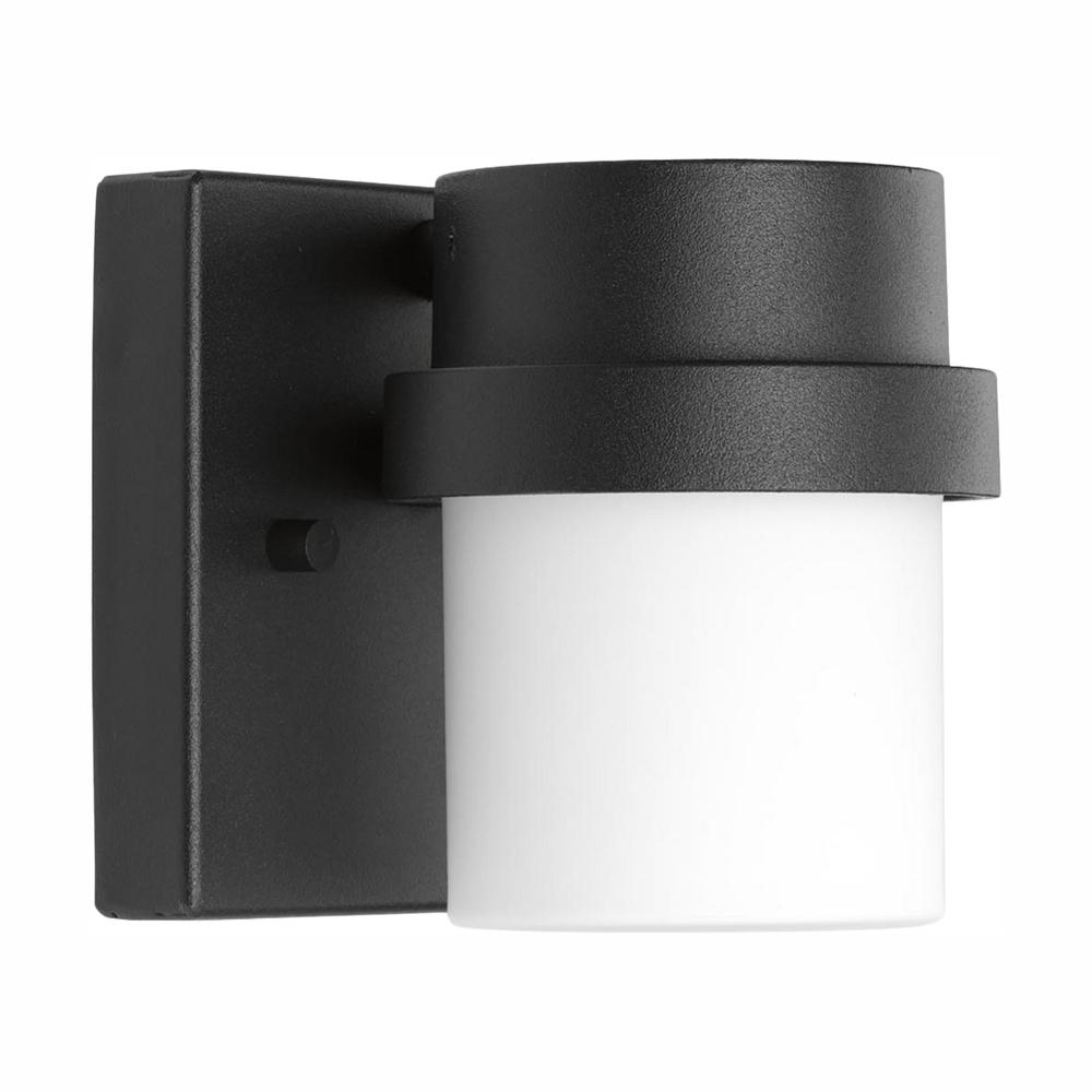 Progress Lighting Z-1060 Black 4.5 in. Outdoor Integrated LED Wall Lantern Sconce
