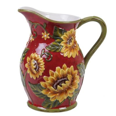 Sunset Sunflower 96 oz. Pitcher