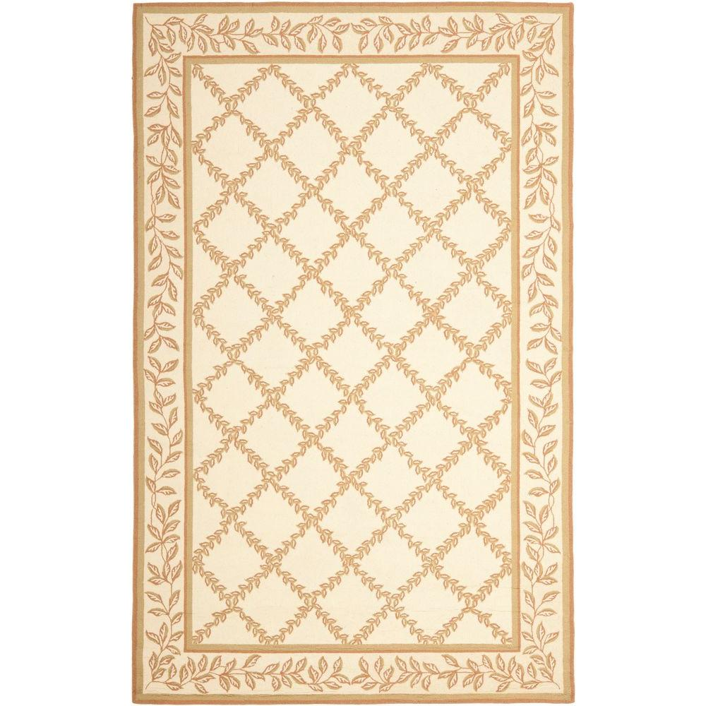 Safavieh Chelsea Ivory/Gold 5 ft. 3 in. x 8 ft. 3 in. Area Rug