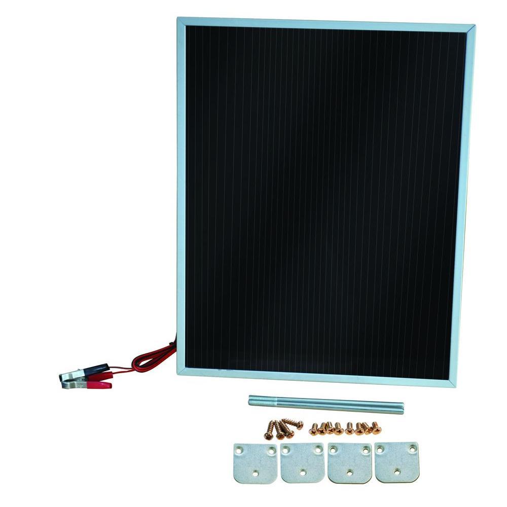Competition Solar 7-Watt Amorphous Solar Power 12-Volt Battery Charger