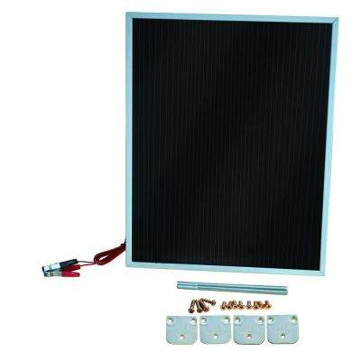 7-Watt 12-Volt Amorphous Solar Battery Maintainer