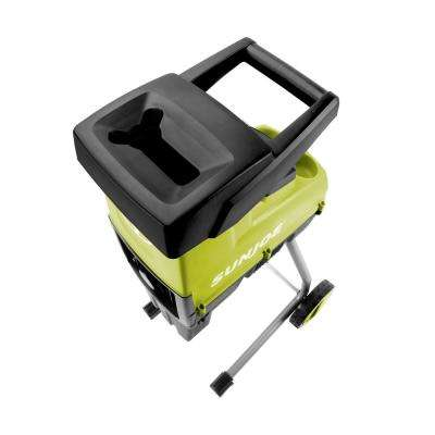 15 Amp 1.6 in. Cutting Diameter Electric Silent Wood Chipper/Shredder