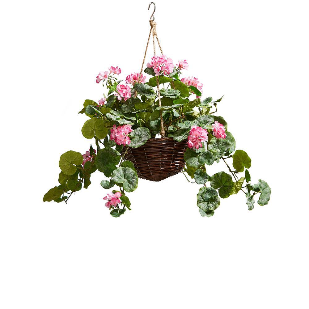 Pink Pure Garden 50-138-PINK Silk Floral Arrangement