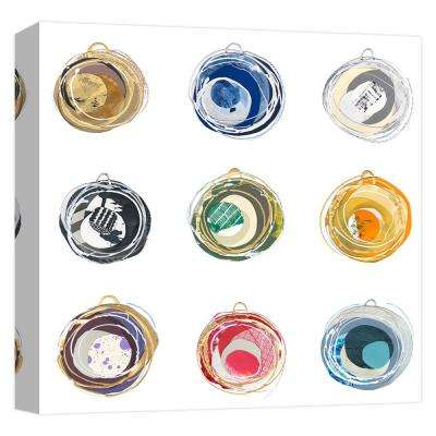 15in.x15in. ''Abstract Ornaments'' Printed Canvas Wall Art