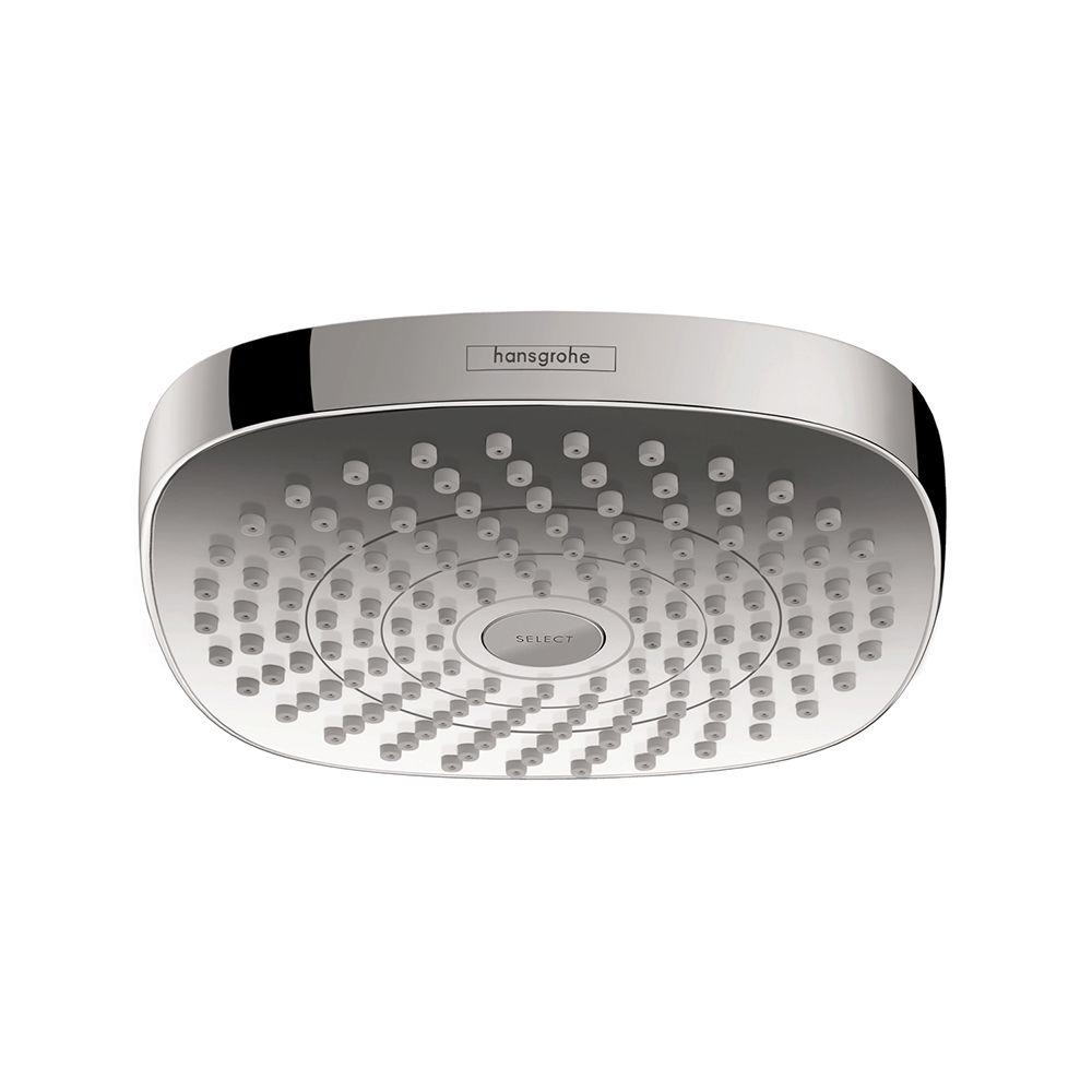 Hansgrohe Croma Select E 180 2-Spray Fixed Shower Head in Chrome