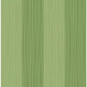 Kids Lime Green Waving Stripes Wallpaper