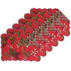 C & F Home Kellyn Red Placemat (Set of 6)