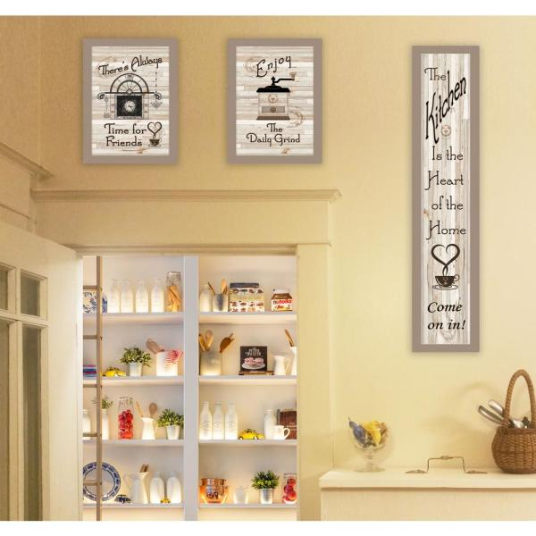 Trendy Decor 4u The Kitchen Collection I By Millwork Engineering Framed