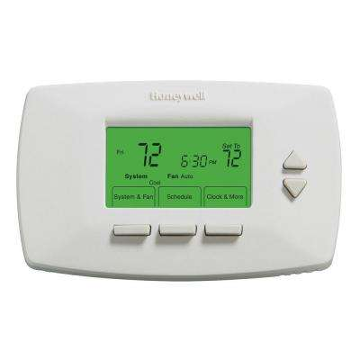 Low Battery Indicator Honeywell Thermostats Heating Venting