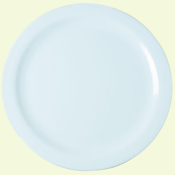 Carlisle 10.25 in. Diameter Melamine Dinner Plate in White (Case of