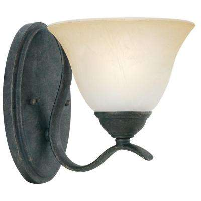 Prestige 1-Light Sable Bronze Wall Sconce