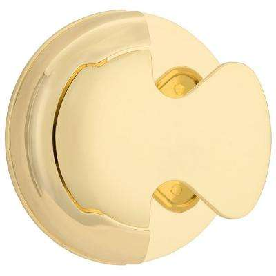 S-Series Bright Brass Privacy Bed/Bath Door Lever