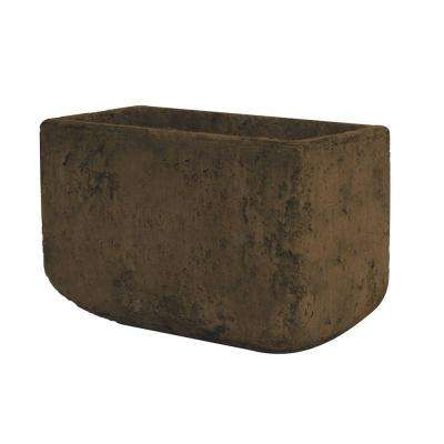 5 in. x 8 in. Cement Planter