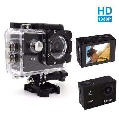 1080p HD Waterproof Action Camera in Black