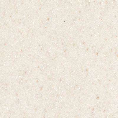 2 in. x 2 in. Solid Surface Countertop Sample in Linen