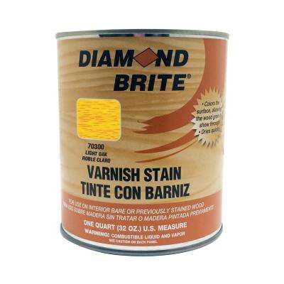 1 qt. Light Oak Oil-Based Interior Varnish Stain