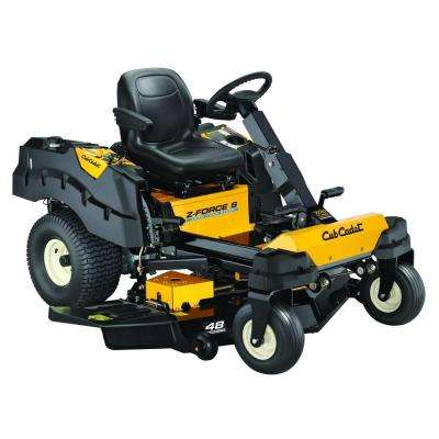 Z-Force S 48 in. 24 HP Fabricated Deck KOHLER Pro V-Twin Dual-Hydro Zero-Turn Mower with Steering Wheel Control