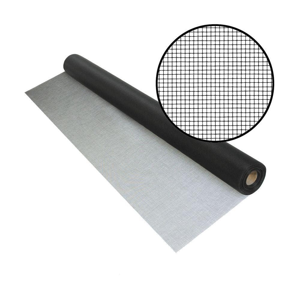 Phifer 72 in. x 100 ft. UltraVue Black Insect Screen